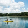 Experience the refreshing waters of Lake Murray and rent a kayak from Lake Murray State Park. It's one of the best ways to see the scenic beauty of this popular Oklahoma vacation destination.