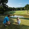 The Lake Murray State Park Golf Course is designed to test golfers' skills with a mix of water hazards and other obstacles. It is also a great family activity at Lake Murray State Park.