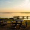 Lake Murray State Park in Ardmore is full of picnic spots with breathtaking views of Lake Murray's calm waters.