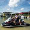Jet skis, boats and other water craft are welcome on the 6,000 surface acres of Lake Murray within Lake Murray State Park.