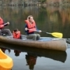 Canoeing is a beautiful way to see the brilliant fall colors that cover Beavers Bend State Park.