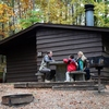 The cabins at Beavers Bend State Park in southeastern Oklahoma come with outside grills, fire pits and picnic tables perfect for enjoying a meal in the great outdoors.