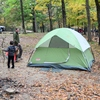 Beavers Bend State Park has eight camping areas with over 50 tent sites, making it one of the most popular places for sleeping under the stars in Oklahoma.