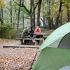 Many of Beavers Bend State Park's tent sites are close to other amenities like picnic tables, grills and more.