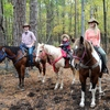 Beavers Bend State Park is home to Beavers Bend Depot, which offers horseback riding and train rides.