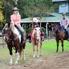 Horseback riding with Beavers Bend Depot in Broken Bow makes for a memorable family outing at Beavers Bend State Park.