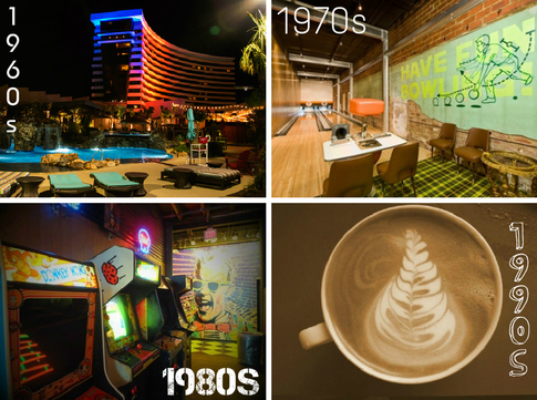 From '70s themed bowling and '80s bars to '90s coffee bars, you can experience the best dates that the past eight decades can offer - without ever leaving Oklahoma!