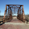 For many years, the 1921 steel-truss Rock Creek Bridge in Sapulpa was open to foot traffic only, but it has since been reopened to vehicles.