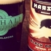 Marshall's Black Dolphin imperial stout.