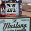 One of Mustang's seasonal selections, the Winter Lager.