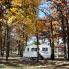 RV camping is a popular lodging option at Natural Falls State Park in West Siloam Springs.