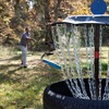 A nine hole disc golf course is just one of the many activities available on the grounds of Natural Falls State Park.