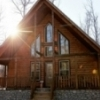 The secluded and romantic Owl Always Love You cabin from Blue Beaver Luxury Cabins in Broken Bow.