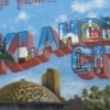 Artistic License Design Group helped Denton's Frame Shop pay tribute to Oklahoma City in the form of this Oklahoma City Landmarks Mural.