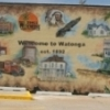 Palmer Studios created this Welcome to Watonga Mural to tell the story of this Oklahoma town.