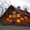 The Arborlawn Cabin offered by Heartpine Hollow Cabins is located within the southern edge of the Ouachita National Forest.