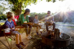 Create family memories you'll cherish forever around the campfire at Boiling Springs State Park.