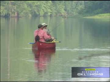 The Mountain Fork River is a paradise for floaters and fishermen.