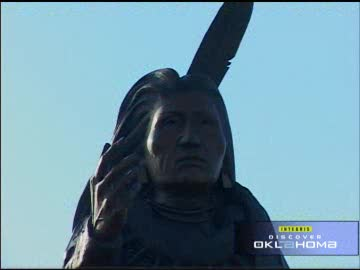 Standing Bear Park is a reverent tribute to Ponca Chief Standing Bear.