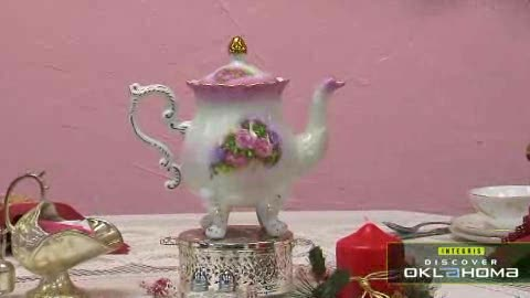 The Victorian Tea Room in downtown Guthrie features a delicious lunch.