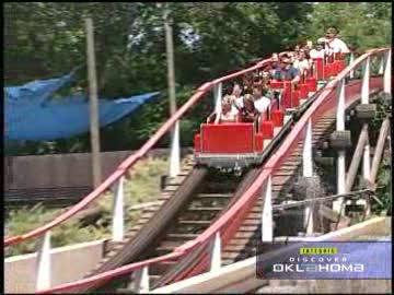 Frontier City theme park offers roller coasters and plenty of thrills.