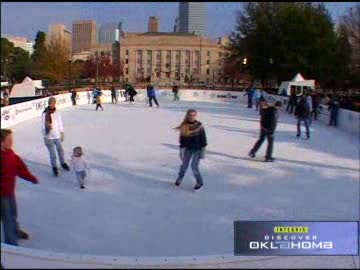 Oklahoma City's Downtown in December celebration is full of winter fun