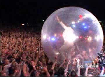 Take a behind the scenes tour of a Flaming Lips show in their hometown