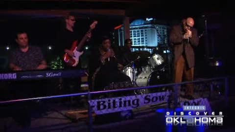 Visit the Biting Sow in OKC's Bricktown District for good blues.