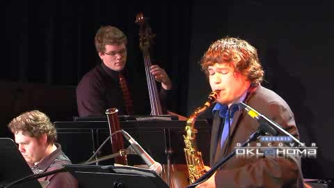 Catch a performance at the University of Central Oklahoma Jazz Lab.