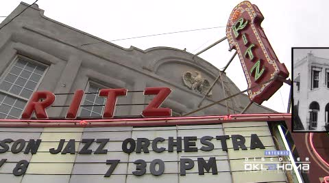 The historic Ritz Theatre has been a Shawnee fixture since 1913.