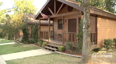 Southern Oaks offers cabins and a peaceful getaway on Grand Lake.