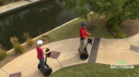 Tour downtown Oklahoma City or the Capitol grounds aboard a Segway.