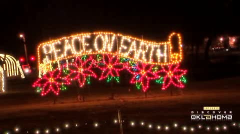 Two million lights spread Christmas cheer in Midwest City.