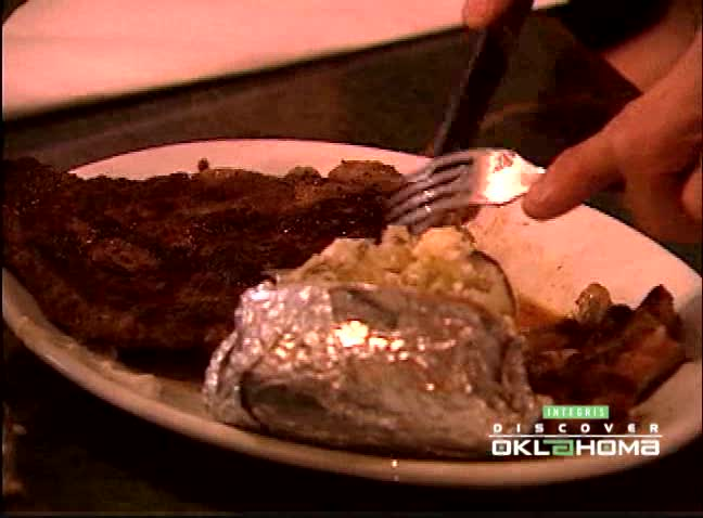 A meal at Click's Steakhouse in Pawnee, Oklahoma is a culinary treat.