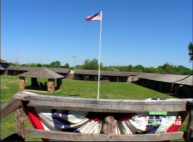 Fort Gibson was the westernmost post of the U.S. Army at one time.
