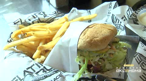 Flatire Burgers in Edmond serves up high-quality hamburgers.