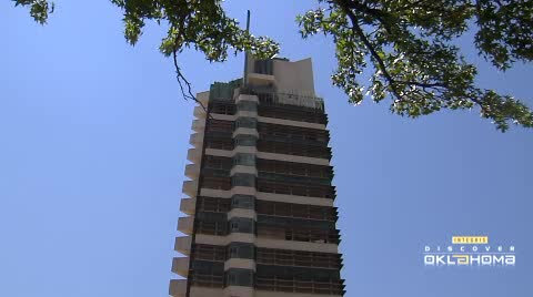 Price Tower is Frank Lloyd Wright's only skyscraper.