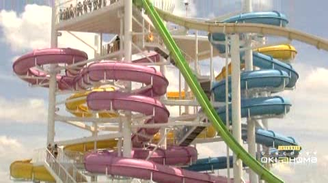 White Water Bay Water Park offers cool waters, relaxation and thrills.