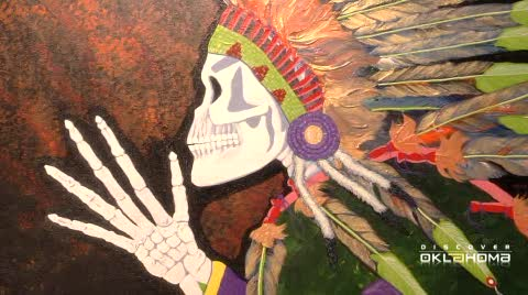 Bill Rabbit is one of the best known living Cherokee artists.
