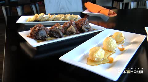 Enjoy a hip, trendy and delightfully varied tapas meal in OKC.