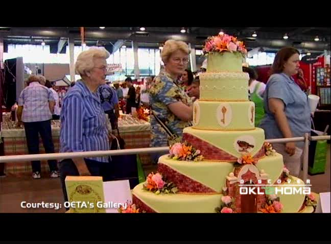 Kerry Vincent puts Oklahoma on the map for sugar arts and cake.