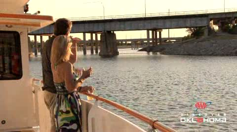 Oklahoma River cruises offer a unique look at downtown Oklahoma City.