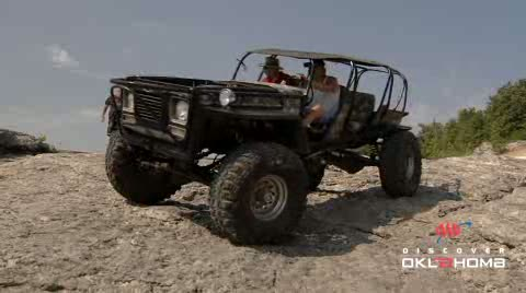 Crawl over boulders or go mudding at Hogan's Off Road Park.