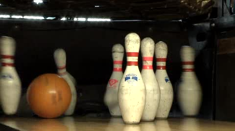 Retro-themed bowling awaits you at the Dust Bowl Lanes & Lounge.