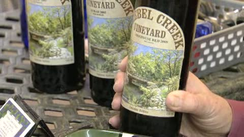 Discover local wines at the Strebel Creek Winery in Oklahoma City.