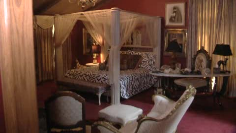 This eclectic bed and breakfast invites you to stay in Muskogee.