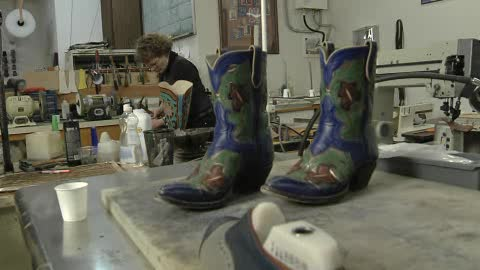 Head to Guthrie's Sorrell Custom Boots for handcrafted cowboy boots.