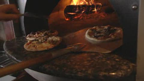 The Wedge Pizzeria in Oklahoma City serves fresh, wood-fired pizzas.