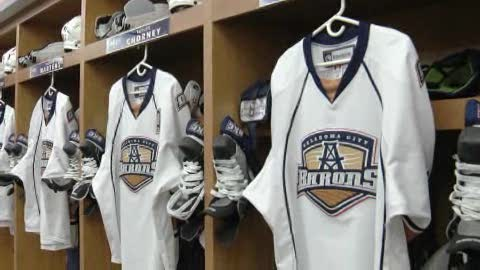 Get a behind-the-scenes look at OKC Barons Hockey.