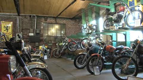 The Seaba Station Motorcycle Museum attracts travelers off Route 66.
